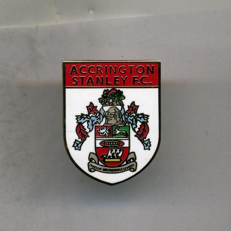 ACCRINGTON STANLEY FOOTBALL PIN BADGE | eBay