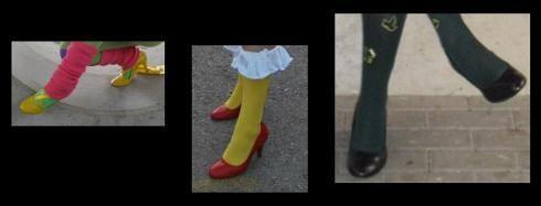 dipingere scarpe cosplay