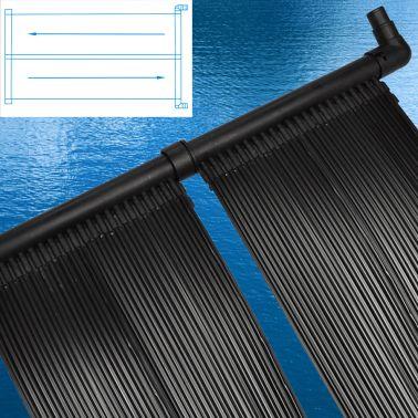 2 pièces Panneau solaire piscine pour chauffage piscine[2/5]