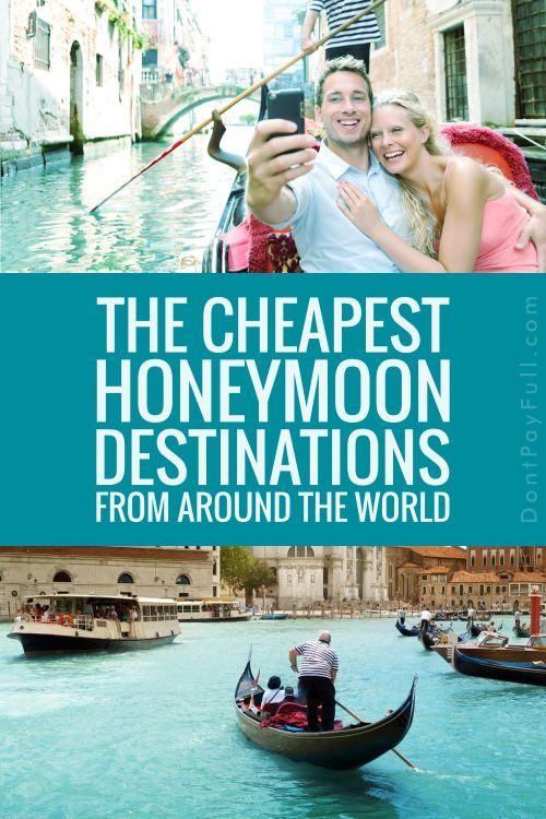 The Cheapest Honeymoon Destinations from Around the World