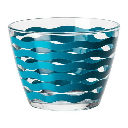 SATSNING Bowl IKEA Made of tempered glass, which makes the bowl durable and extra resistant to impact.