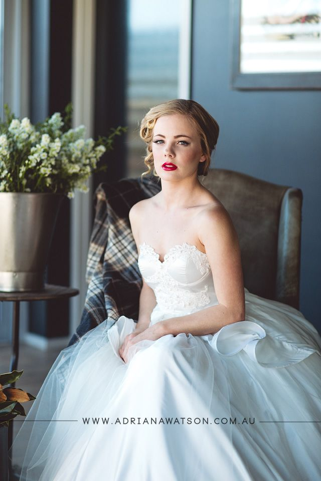 The Lakehouse Sunshine Coast - the foyer with styled photo shoot for Judy Copley Bridal Coutoure
