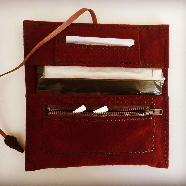 I have just listed our original TOBACCO POUCH designed and handmade by TheRoadie. Have a nice day!!!