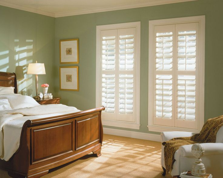 This Is A Wood And PVC Mix Plantation Shutter That Looks And Feels Like  Real Wood