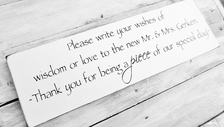 """Customized Wedding Quilt guest book reminder sign - """"... Thank you for being a PIECE of our special day."""" Mr & mrs names. $39.99, via Etsy."""