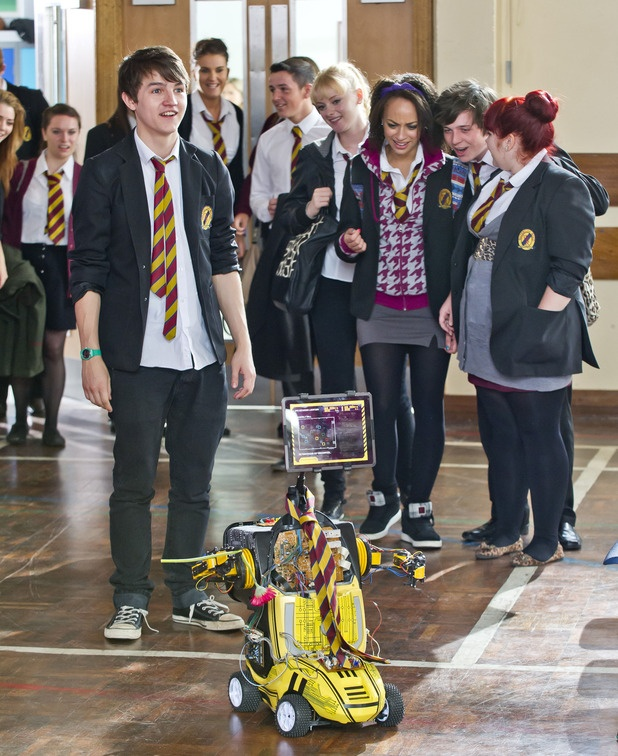 Tommy Knight in Waterloo Road - this was a good moment!