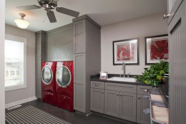 Shimon- Cuthbert Residence - contemporary - laundry room - minneapolis - Homes by Tradition