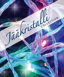 Valosarja, 40 LED, monivärinen, sisä- ja ulkokäyttöön; Jääkristalli | Rellunkulma.fi verkkokauppa