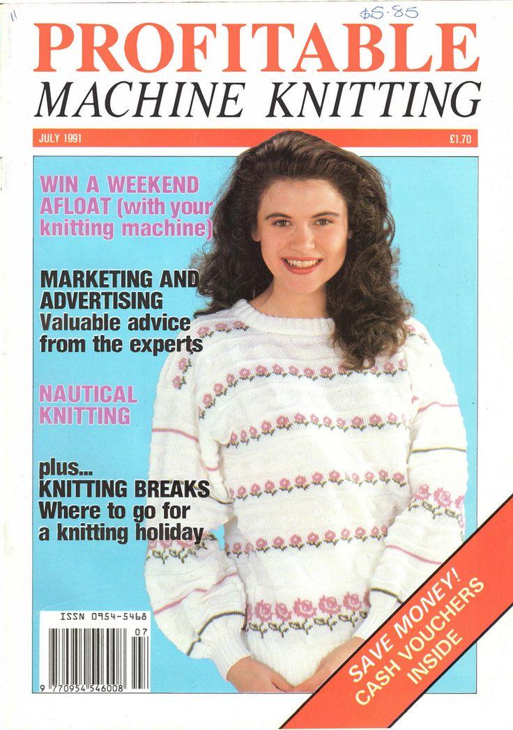 1000+ Images About Profitable Machine Knitting Magazine On