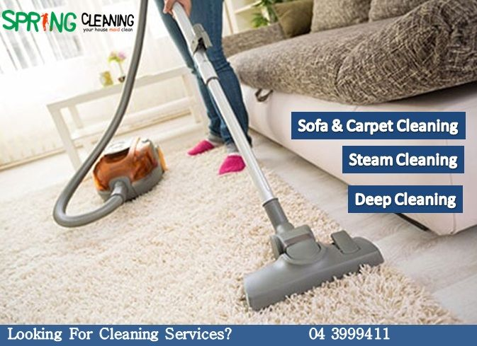 Sofa And Carpet Cleaning Maid