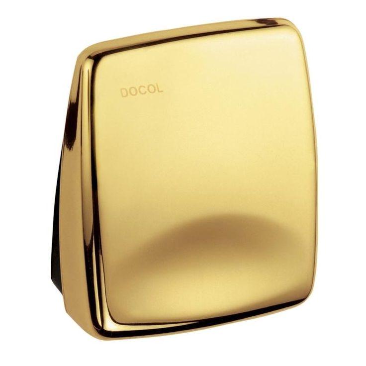 R$105   Acabamento para Válvula de Descarga Docol Luxus Dourado