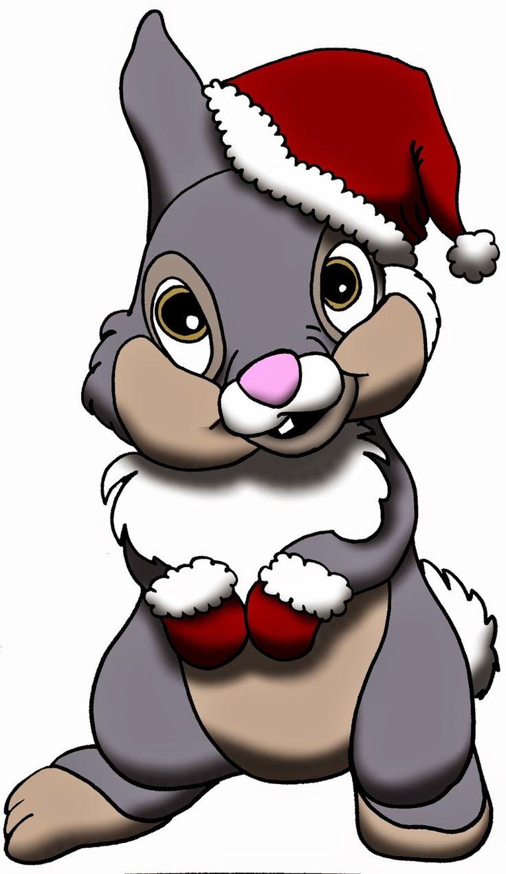Panpan fête noël ! Le petit Lapin Chou de Bambi s'est déguisé pour l'occasion ! #Disney #Panpan #Bambi #Noël #Fanart