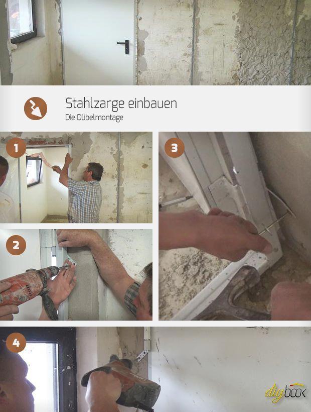 Stahlzarge Einbauen Die Dubelmontage Anleitung Tipps Vom Tischler Fenster Turen Diybook At Stahlzarge Haus Sanieren Altbau Sanieren