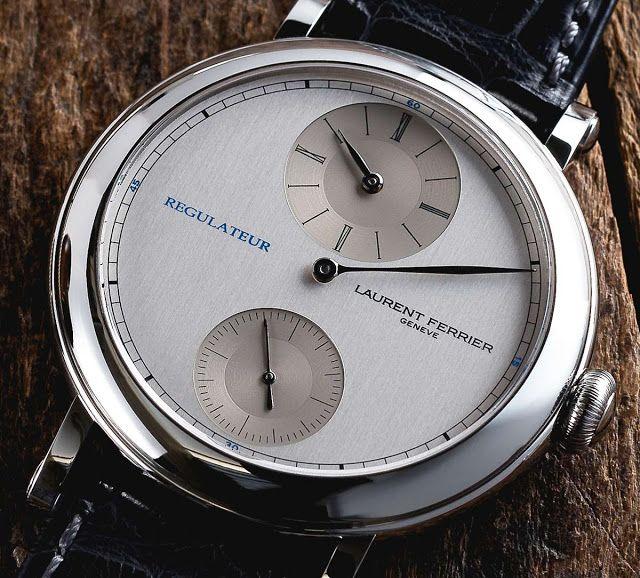В январе на часовой выставке Salon International de la Haute Horlogerie в Женеве компания Laurent Ferrier представила часы Galet Micro Rotor «Montre Ecole».   #Обзор блогов о часах
