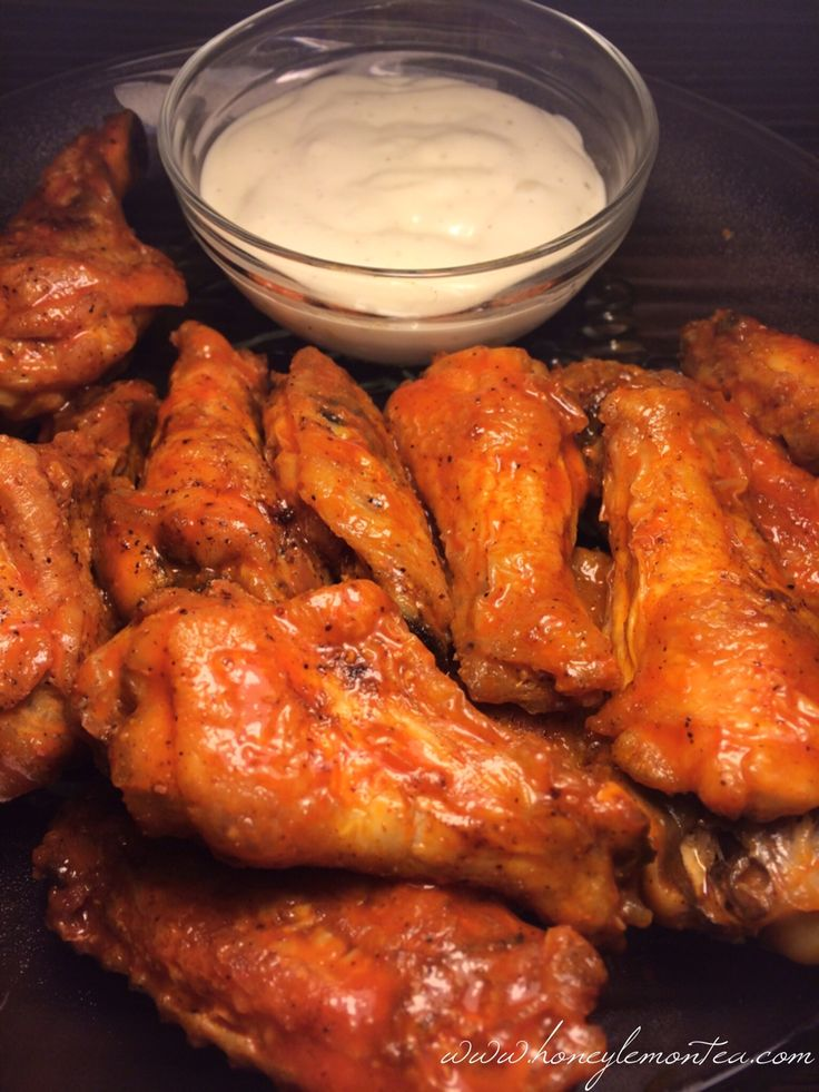 Crispy Baked Buffalo Wings Recipe
