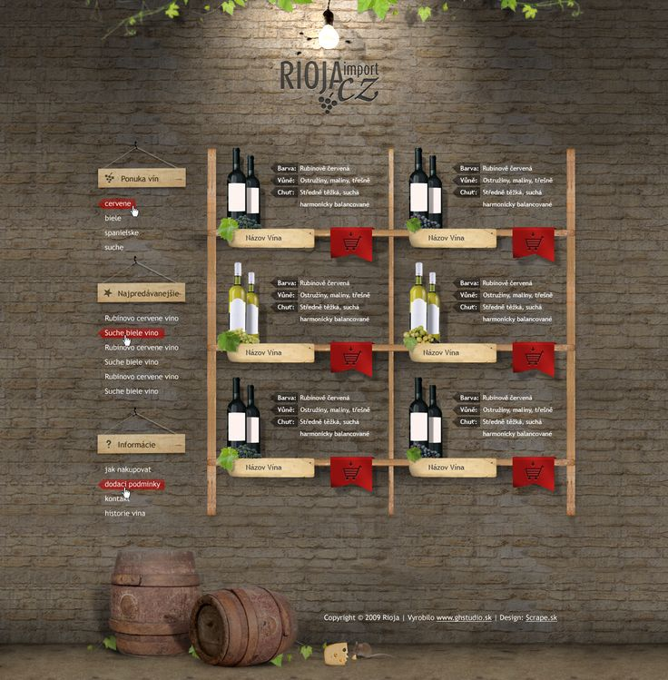 Webdizajn - Rioja.cz