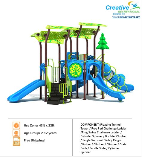 $31,974 COSMIC | COMMERCIAL PLAYGROUND EQUIPMENT
