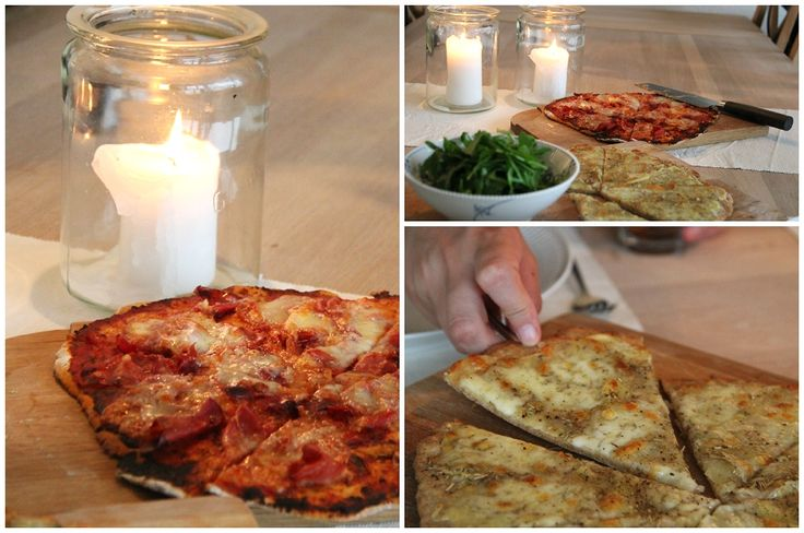 Homemade pizza  by blogliebling.dk