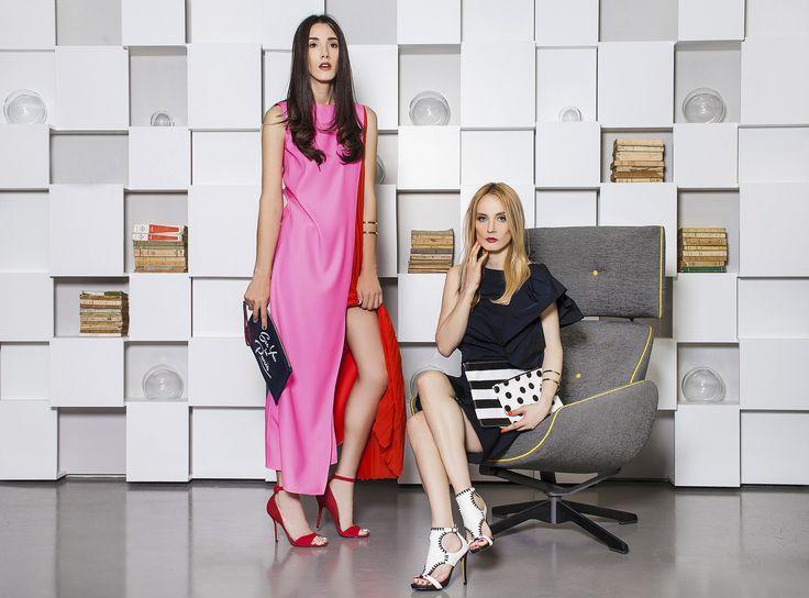 Perechea perfecta! Fabulous Muses in rochii semnate Dior si Lanvin. Vezi colectia noastra de rochii: http://www.dressbox.ro/