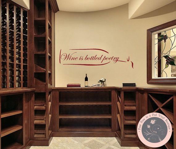 kitchen decor wine wall decal kitchen wall decal wine wall decor wine bottle vinyl decal
