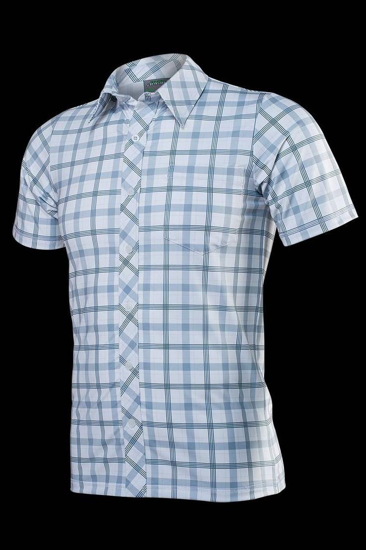 Áo thể thao giả sơ mi Alien Armour Men's Cool X Polo T-shirt A057 - White
