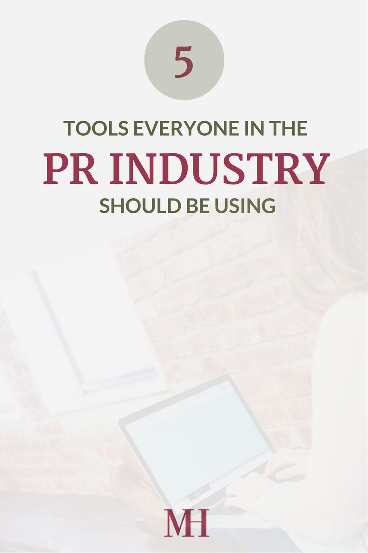 Best 25 public relations major ideas on pinterest j public 5 tools everyone in the pr industry should be using xflitez Gallery