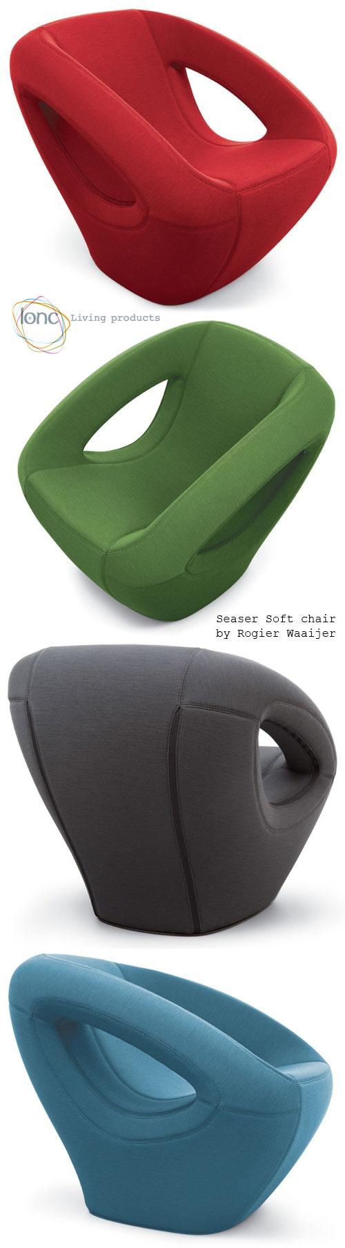 Seaser Soft chair by Rogier Waaijer