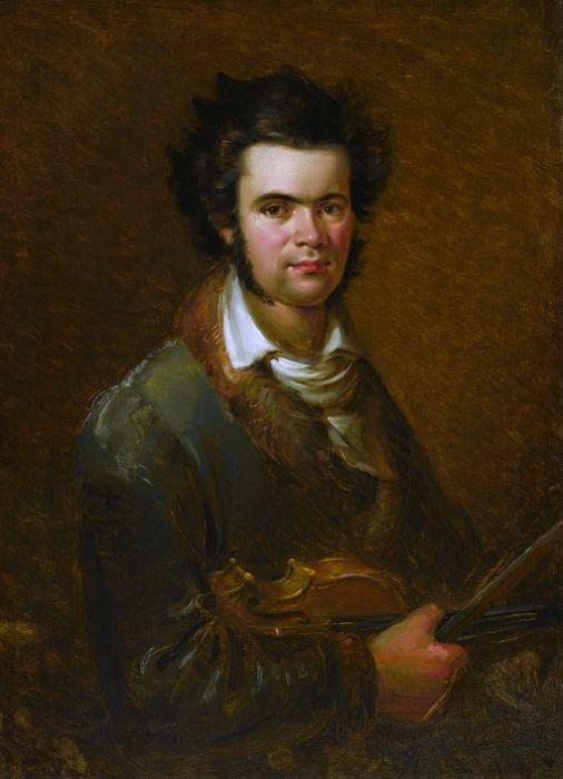 Валентий-Вильгельм Ванькович. Портрет Караля Липинского (1822)