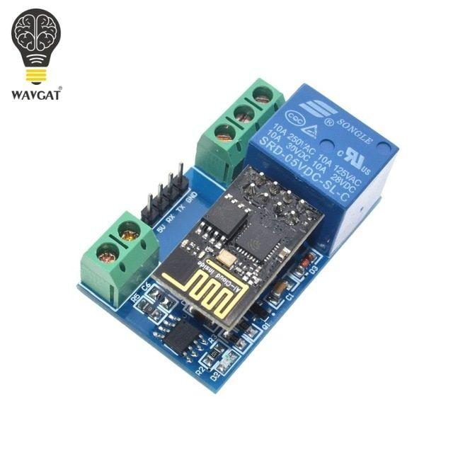 1 Pcs Esp8266 5v Wifi Relay Module Things Smart Home Remote