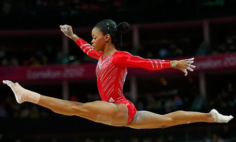 US Olympic gold medal winner Gabby Douglas