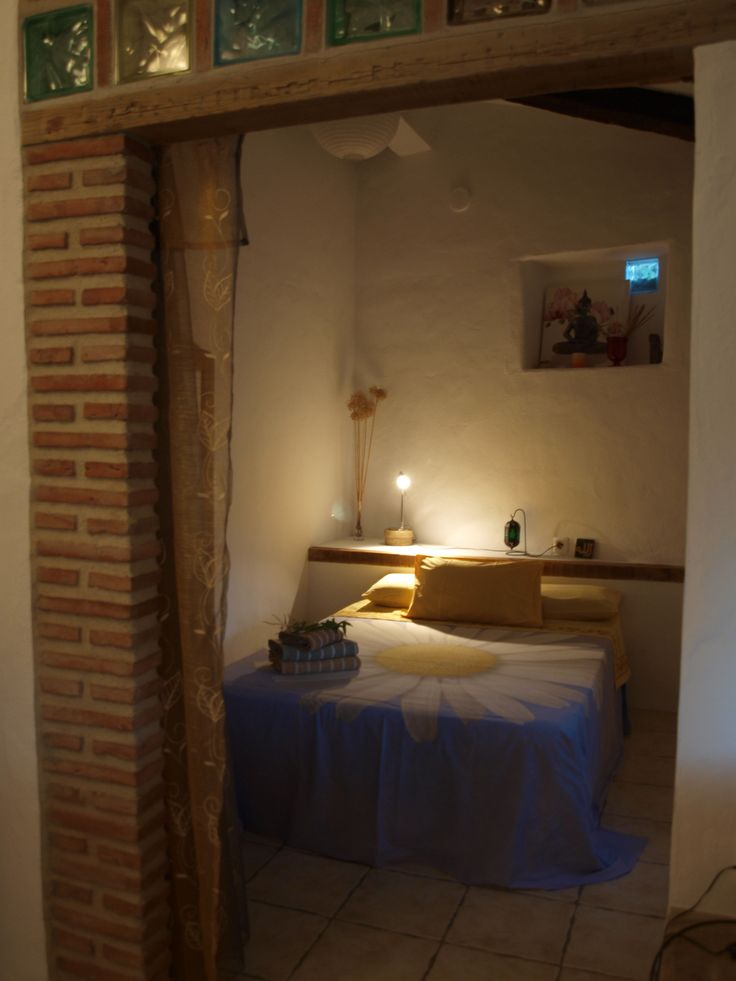 habitacion doble con cama de matrimonio de casa rural tai