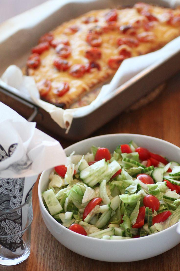Varm Skinksmörgåstårta | Bakverk och Fikastunder