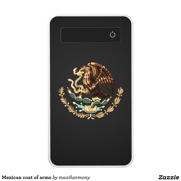 Mexican coat of arms power bank