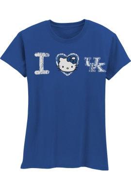 I Love UK Kids T-ShirtKids T Shirts, Heart Sets,  T-Shirt, Favorite Shirts, Kentucky Basketbal,  Tees Shirts, Universe Of Kentucky, Kentucky Hello, Hello Kitty