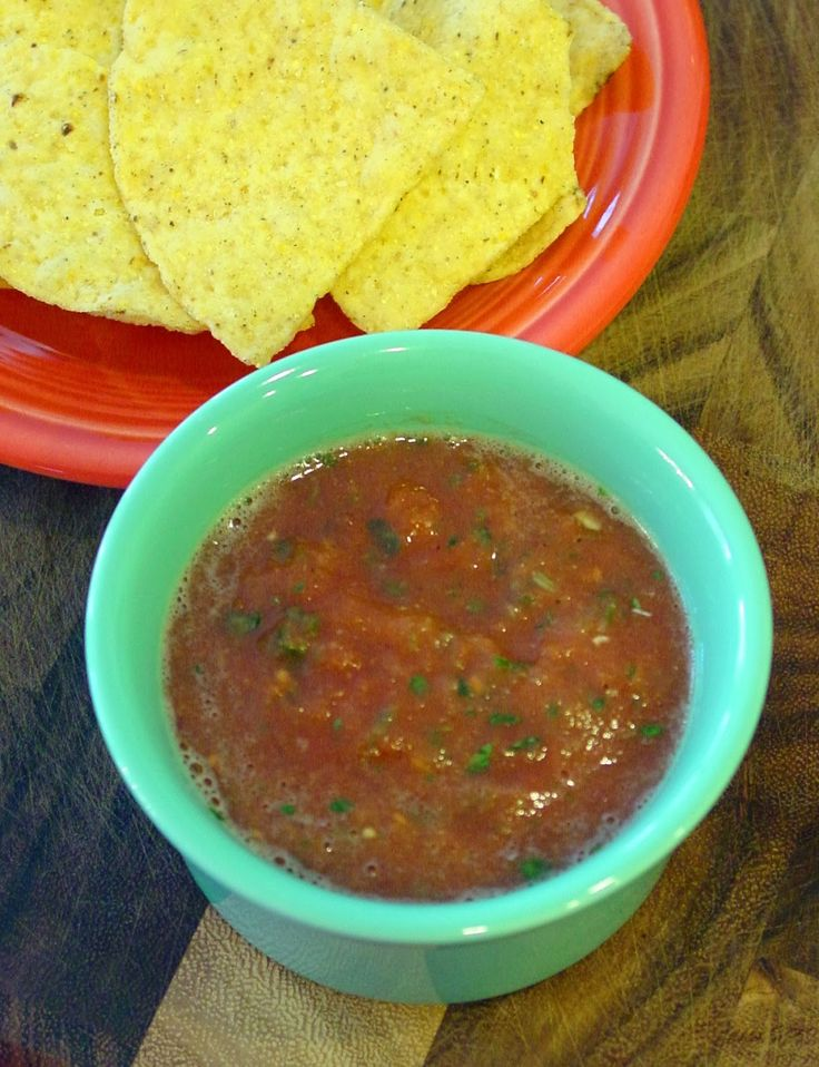 Soup Spice Everything Nice: Cilantro Lime Salsa