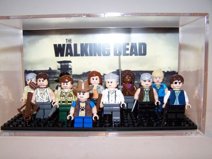 The walking dead Lego (Wish I can get this Lego set too! Love it to the max)