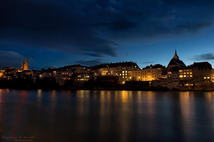 Basel Stadt Dusk