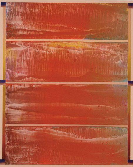 加納光於画額「胸壁にて-Re Breast Region-Re」 1980年/油彩 キャンバス サイン 80.5×65 F25号 「加納光於≪胸壁にて≫」(アキライケダギャラリー 1980)「加納光於PAINTING '80-90」(北九州市立美術館 1983)出品作 ¥840,000