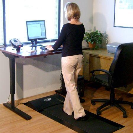 Gesundester Arbeitsplatz Mit Laufband Und Hohenverstellbarem Schreibtisch Zum Stehen Gehen Und Sitzen Laufband Computerarbeitsplatz Buro Arbeitsplatz