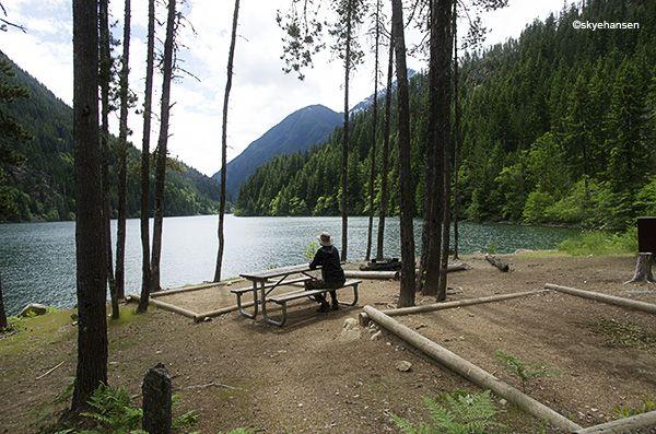 Diablo Lake camping