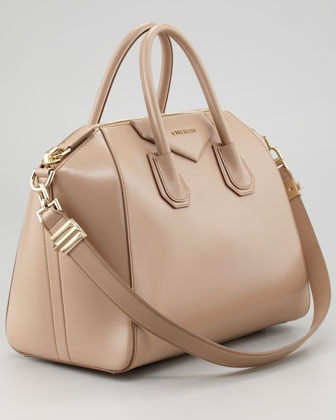 Givenchy Antigona Medium Satchel Bag, Linen