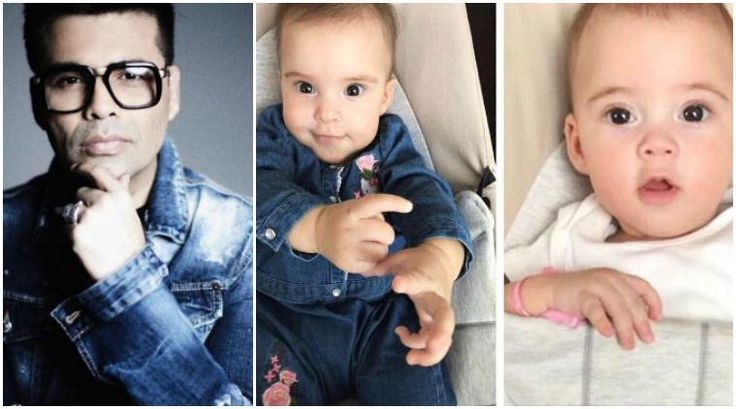 Karan Johar shares yet another adorable photo of twins Yash and Roohi and it is going viral once again