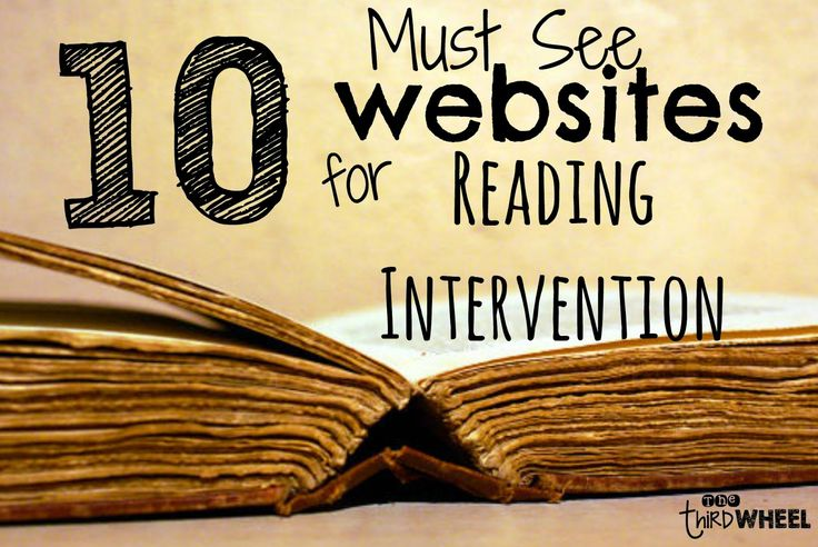 1. Florida Center for Reading Research: Tools for tutoring or intervention with a struggling reader? You must go to this site. Broken down into the 5 different components of literacy, this site has lessons, games, and resources for all your reading intervention needs. Just print and you are ready to teach. It is seriously a...Read More »
