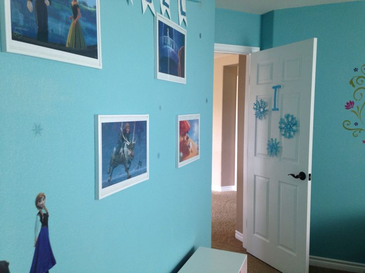 Disney S Frozen Inspired Bedroom Prints From The Disney