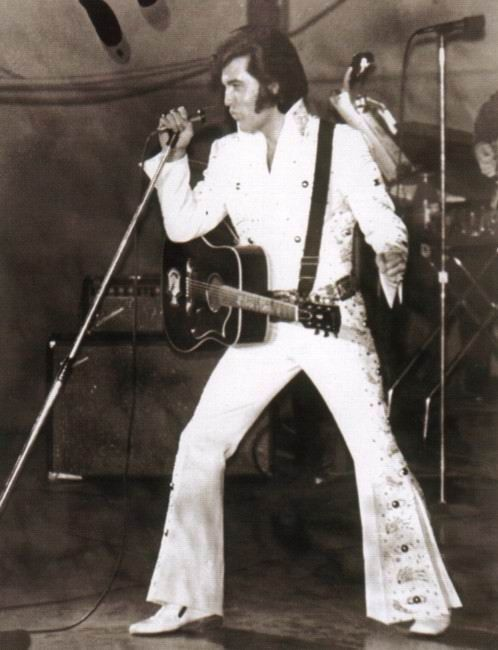 Elvis Presley At The Long Beach Arena