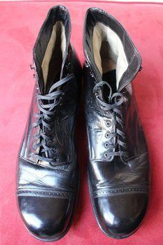 1920s men's work boots   boots   Pinterest   Mens work boots ...