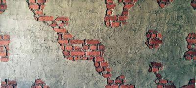 Brüt Beton Tuğla Duvar Görünümlü Fiber Panel M022, Fiber Duvar Paneli, Beton Desenli Fiber Duvar Paneli, Beton Desenli Fiber, Duvar Kaplamaları, 3 Boyutlu Duvar Kaplamaları, İç Mekan Kaplama, Dekoratif Kaplama