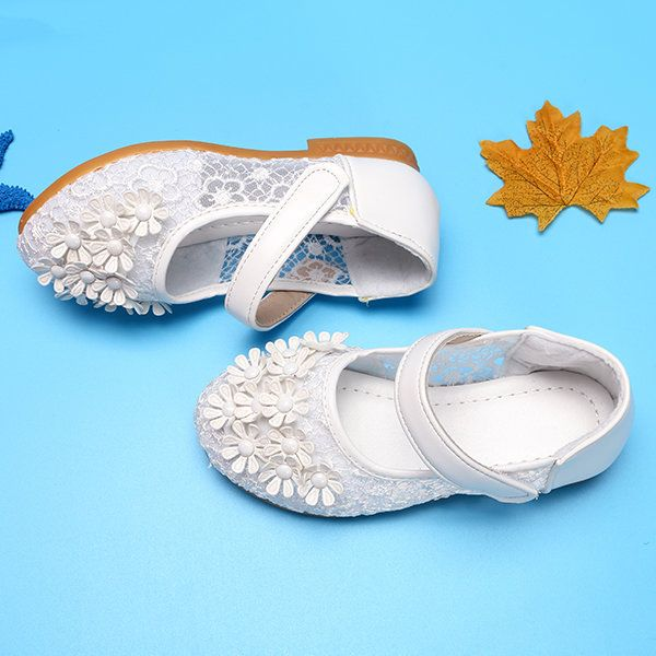 Breathable Flower Princess Wedding Girls Dress Shoes On Sale - NewChic