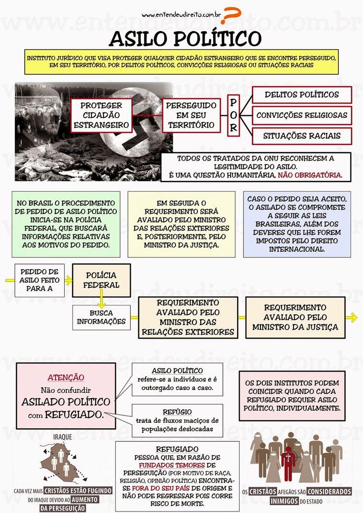 EXCLUSÃO DE ESTRANGEIROS: DEPORTAÇÃO, EXPULSÃO, EXTRADIÇÃO, ASILO POLÍTICO, ASILO DIPLOMÁTICO