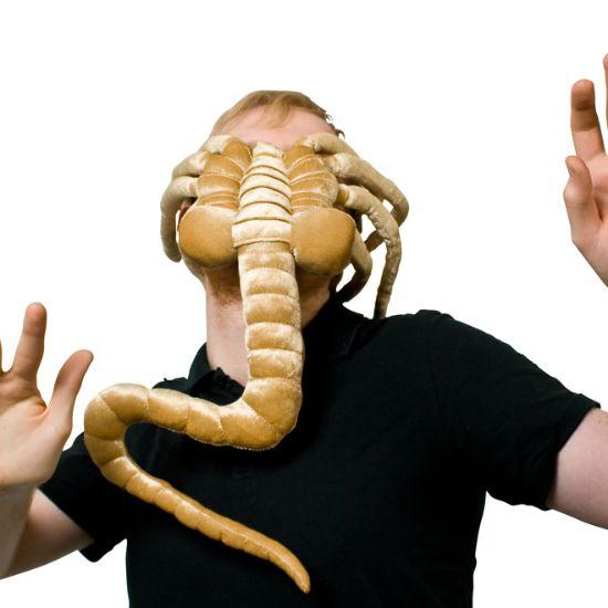 Alien facehugger plush.  Definitely don't want. Wait! Yes I do. No I don't. Yes!